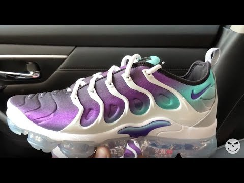 cab512c234 Nike Air VaporMax Plus Grape Sneaker - YouTube