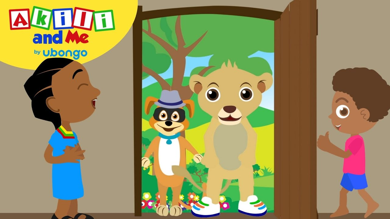 STORYTIME: Akili Plays Hide and Seek! | New Words with Akili and Me | Cartoons for Preschoolers