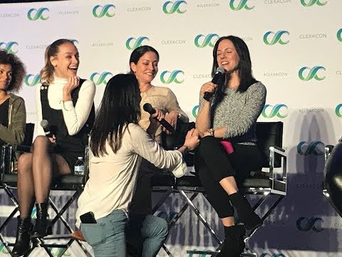 ZOIE PROPOSED TO ANNA   LOST GIRL  CLEXA CON 2018