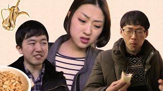 Koreans Taste Arabic Snacks | كورييون يجرّبوا أكل عربي لأول مرة