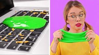 TRUCOS PEREZOSOS DE LIMPIEZA || Consejos fáciles para limpiar rápidamente con 123 GO!