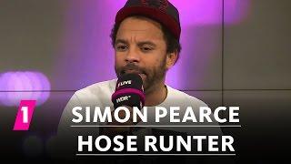 Simon Pearce: Hose runter