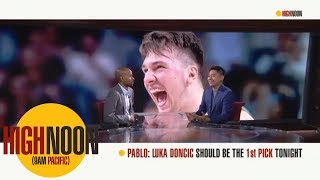 Pablo Torre: Luka Doncic should be the first pick in the 2018 NBA draft | High Noon | ESPN