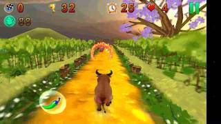 Angry Bull Run Android Game