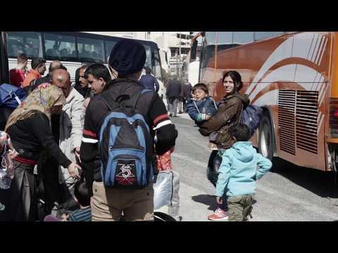 ΑΘΗΝΑ: ΠΡΟΣΦΥΓΕΣ ΣΤΟ ΛΙΜΑΝΙ ΠΕΙΡΑΙΑ / ATHENS: REFUGEES AT PIRAEUS PORT (2015-16) #19
