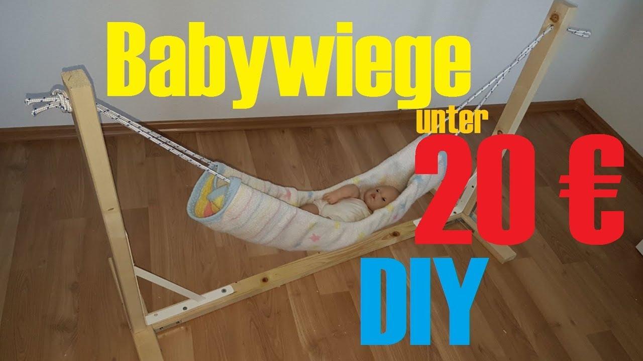 Gut gemocht Babywiege unter 20 € ganz einfach selber machen - simple baby CG57