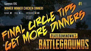PUBG XBOX ONE X TOP 100 PLAYER: FiNAL CiRCLE TiPS WHAT TO DO WHEN THERE iS ONLY 20 LEFT ALiVE!!!!
