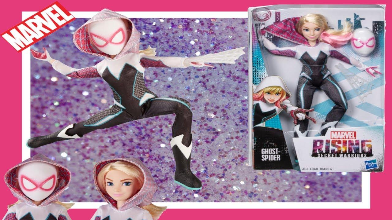 Marvel Rising Secret Warriors Secret Identity GHOST-SPIDER Gwen Stacy Doll NEW