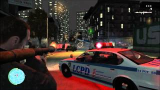 GTA 4 PC Gameplay GTX 580 Maxed out Full HD