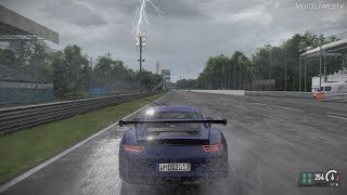 Project CARS 2 Preview Build [PC] - Porsche 911 GT3 RS at Monza (Dynamic Weather)