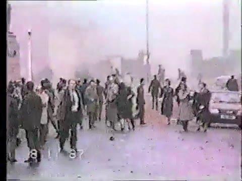 Remembrance Day Bombing, Enniskillen 1987 (Original Footage)