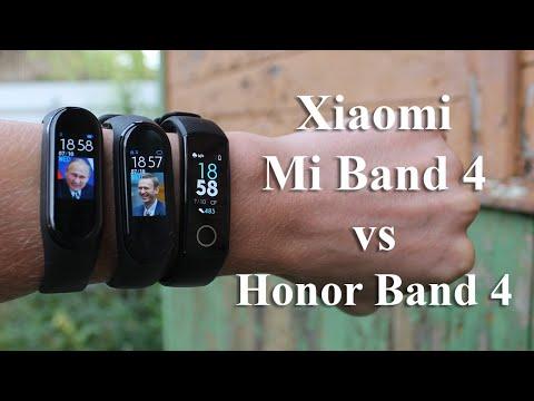 Битва титанов! Фитнес браслеты Xiaomi Mi Band 4 Vs Honor Band 4, кто же лучший?