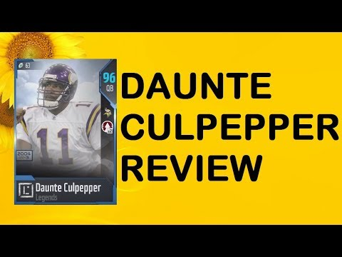How Good is 95 Overall Daunte Culpepper? MUT 18 Card Review