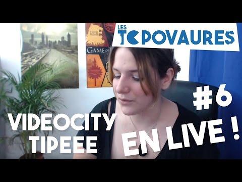 Retour VideoCity - Tipeee et.. voilà ? En live #6