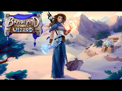 Braveland Wizard (by Tortuga Team) - iOS / Android - HD Gameplay Trailer
