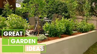 Build Your Own Retaining Garden Wall For Kids | Gardening | Great Home