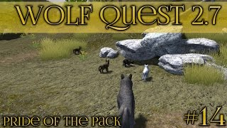 Clear Skies for Spring Puppies 🐺 Wolf Quest 2.7 - Pride of the Pack 🐺 Episode #14