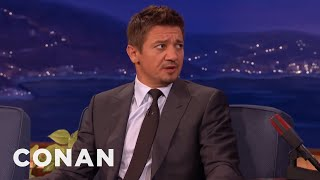 "How Jeremy Renner Ended Up In ""Mission: Impossible""  - CONAN on TBS"