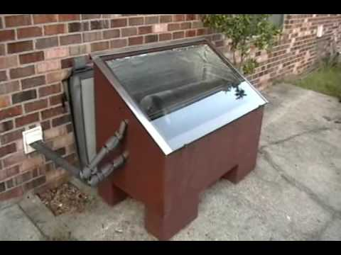 Solar Batch Water Heater Quot Part Two Quot Youtube