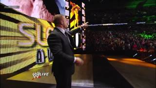 Match of the Year: 2012 Slammy Award Presentation