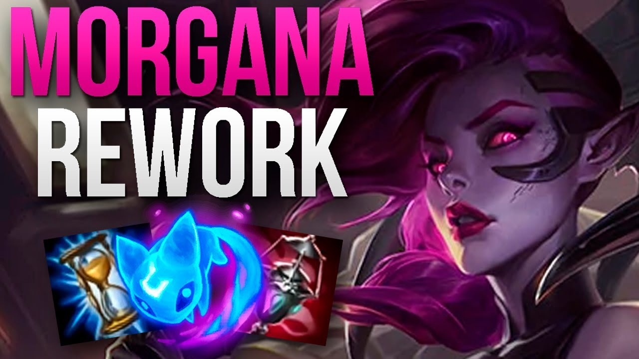 New Reworked Morgana Is Amazing Challenger Morgana Support Gameplay Patch 95 S9