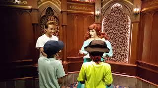 Princess meet and greet Disneyland (8-16-2018)