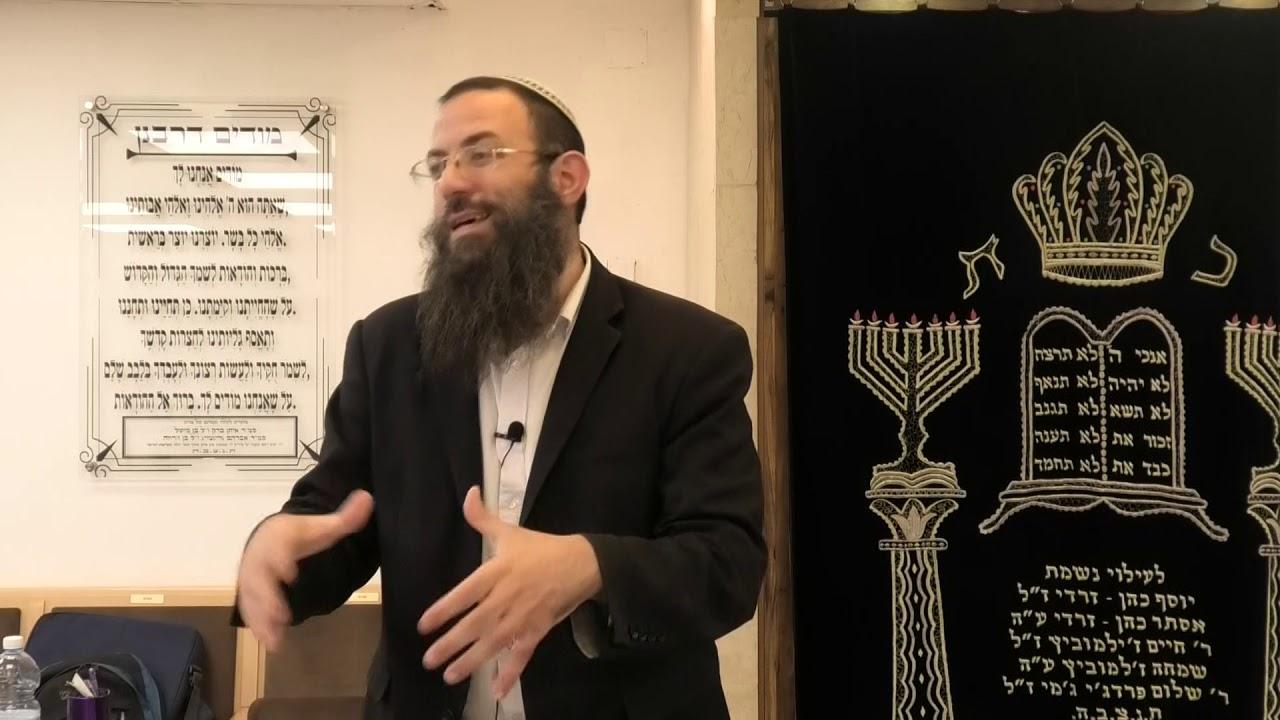 הקדמות להלכות שבת 6-גדר מתעסק בשבת. הרב אריאל אלקובי שליט''א