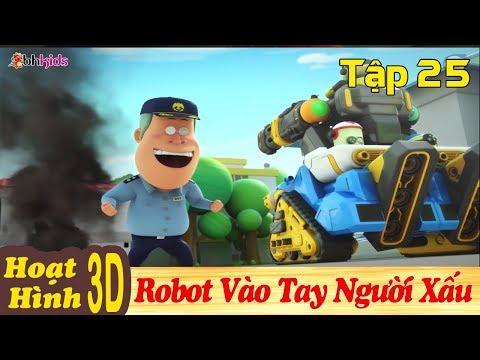 Phim Hoạt Hình Hay Nhất 2018 - ROBOT VÀO TAY NGƯỜI XẤU - Binh Đoàn Người Máy T-Buster - Hoạt Hình 3D