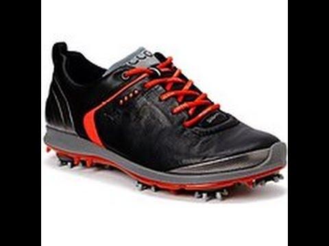 Ecco Biom G2 Damen Golfschuhe Gore-tex Schwarz/Rot