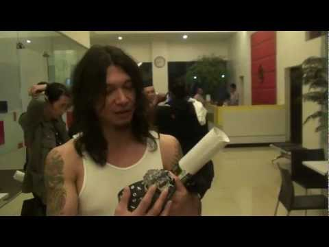 Rob Cavestany & Mark Osegueda of Death Angel talks about Fourspeed Metalwerks buckle