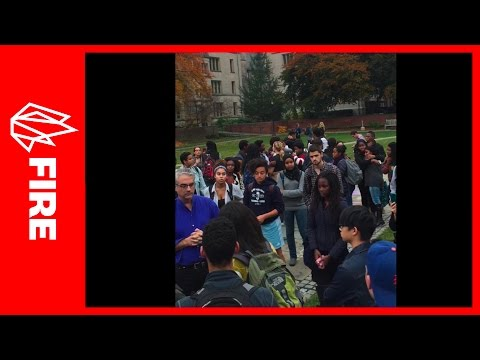 "Yale SJWs screaming at professor yesterday because he isn't making the university enough of a ""safe space"" by denouncing offensive Halloween costumes"