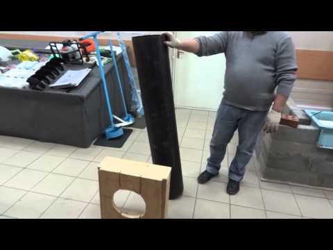 Труба-опалубка для строительства фундамента