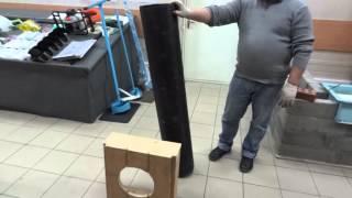 Труба-опалубка для строительства фундамента(, 2014-03-20T18:17:47.000Z)