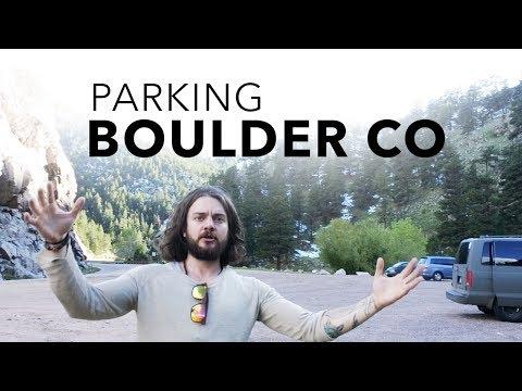 Van Dwelling: Parking in/near Boulder Colorado