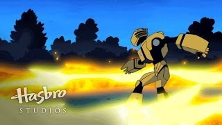 Transformers: Animated - Destroy the Car Robots
