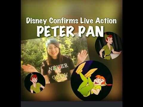 Disney's Peter Pan Live Action Movie Confirmed