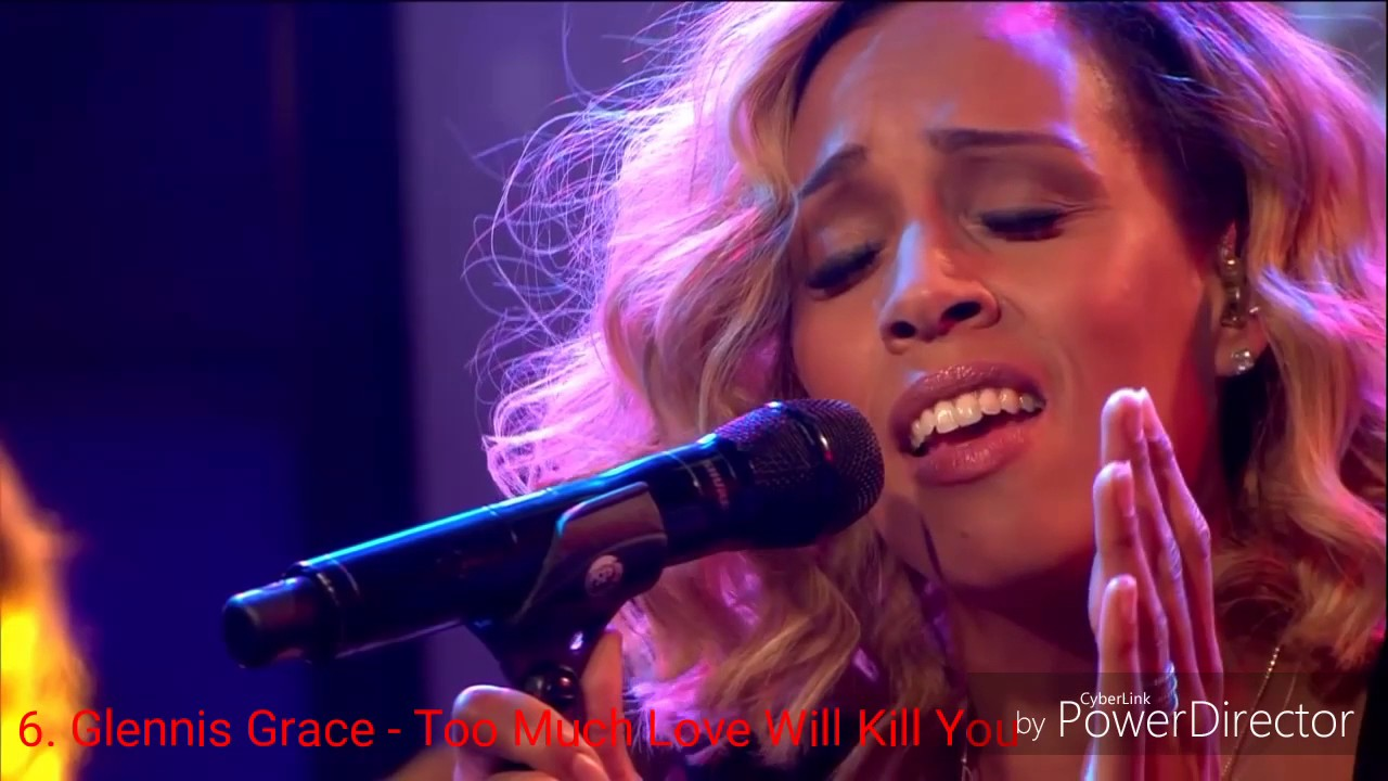 Glennis Grace Covers Top 11 Youtube