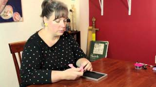 How To Stand A Picture Frame Earring Holder Without A Back : Cool & Functional Crafts