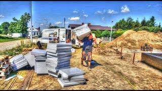 Wyzwanie #  dzień 9. Budowa domu SSO w 50 dni? Hydroizolacja. Jak wybudować dom? Budowa domu 2017