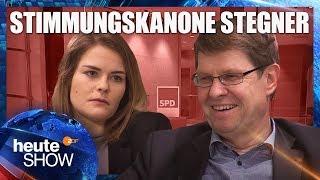 Hazel Brugger hört den privaten Hilfeschrei von Ralf Stegner