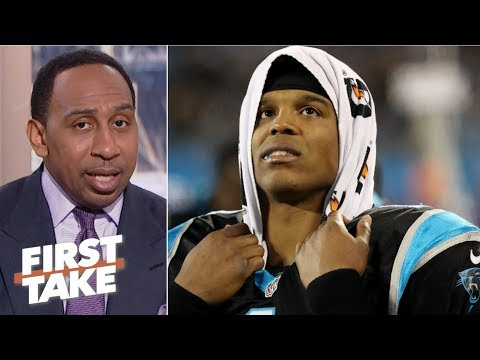 Cam Newton should sit his 'behind on the bench' if he's playing hurt - Stephen A. | First Take