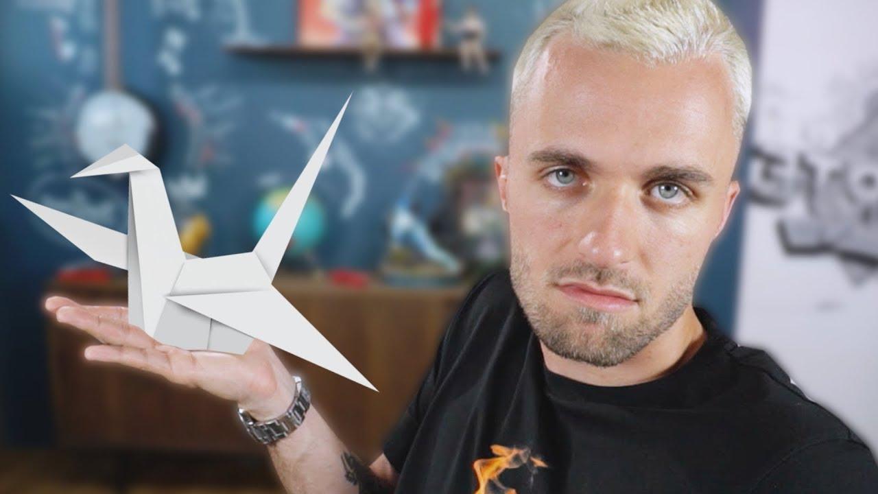J'essaie l'origami et c'est l'enfer