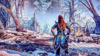 HORIZON ZERO DAWN The Frozen Wilds Gameplay Walkthrough PS4