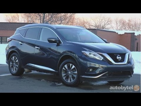 2016 Nissan Murano SL AWD Test Drive Video Review