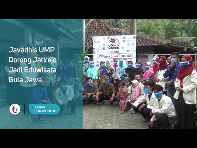 Javadhis UMP Dorong Jatirejo Jadi Eduwisata Gula Jawa