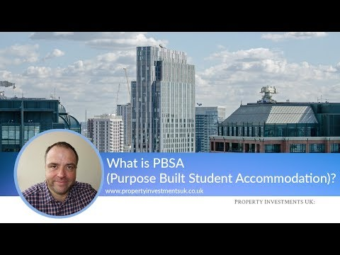 What is PBSA (Purpose-Built Student Accommodation)?