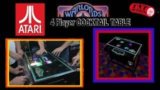 #439 Atari WARLORDS Cocktail Table Arcade Video Game - TNT Amusements