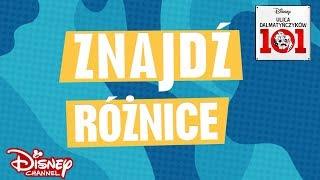 Znajdź różnicę! | Ulica Dalmatyńczyków 101 | Disney Channel Polska