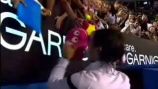 Rafael Nadal - Signing Autographs at 2009 Australian Open