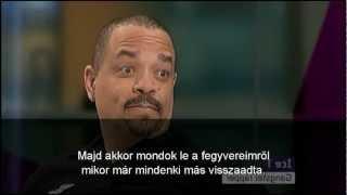 Ice-T (rapper) véleménye az alkotmányos fegyvertartásról